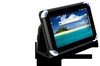 Cyber Acoustics Black Leather Cover Case for Samsung Galaxy Tab 7 New