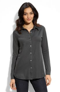 Eileen Fisher Long Sleeve Jersey Shirt