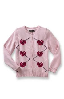 Sweet Ivy Heart Cardigan (Toddler & Little Girls)