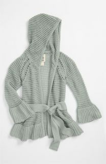 Peek Liz Hooded Wrap Sweater (Toddler, Little Girls & Big Girls)