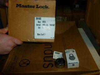Lot of 600 Master Combination Padlocks 2010s Series Key V59