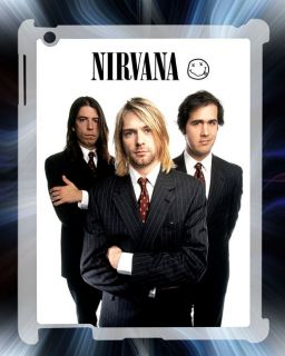 Nirvana Kurt Cobain Dave Grohl Hard Back Case Cover for iPad2 iPad 2