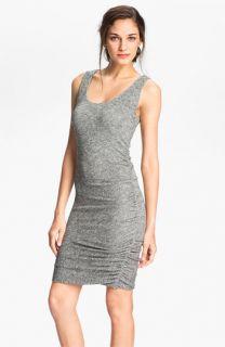 Velvet by Graham & Spencer Ruched Metallic Tank Dress