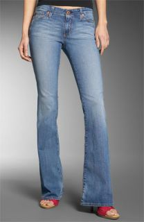 AG Jeans Club Well Fitted Stretch Flare Jeans