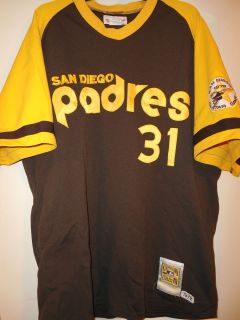 Dave Winfield San Diego Padres Mitchell Ness M N Throwback Jersey 52