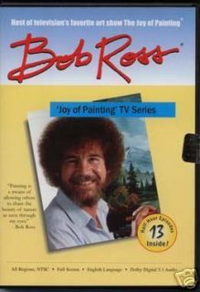 ANY Bob Ross Joy of Oil Painting TV Series 3 DVDs 26 27 28 29 30 31