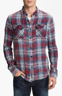 True Religion Brand Jeans Plaid Flannel Shirt