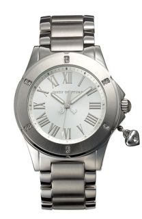 Juicy Couture Rich Girl Round Dial Bracelet Watch
