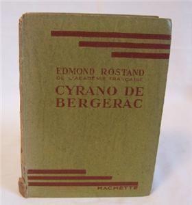 1939 Cyrano de Bergerac Play Format by Edmond Rostand