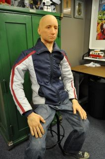 Life size David Duchovny stunt double. fully posable, x files