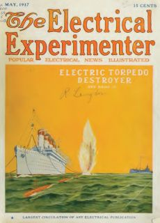 The Electrical Experimenter Science Invention Magazine 24 Issues Books