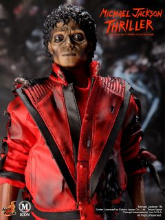 HOT TOYS MICHAEL JACKSON MJ THRILLER WERECAT STAND PLATE 1/6