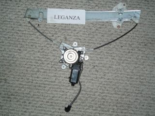 DAEWOO LEGANZA power window regulator FRT LEFT door FULL ASSEMBLY