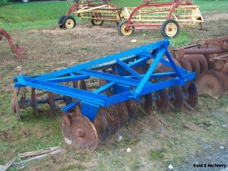 Ford Dearborn 6 1 2 Disc Plow Cultivator