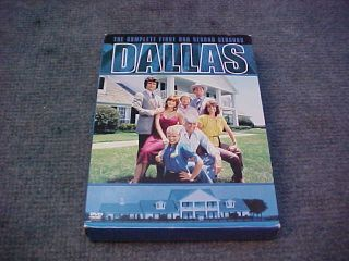 Dallas The Complete First Second Seasons 1 2 DVD Set
