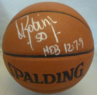 David Robinson Autographed Signed San Antonio Spurs NBA Basketball JSA