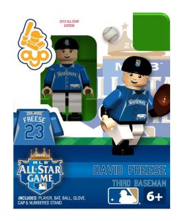 2012 All Star Ed David Freese OYO Mini Figure Lego St Louis Cardinals