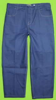 David Taylor Comfort Fit Sz 40 x 29 Mens Blue Jeans Denim Pants CB63