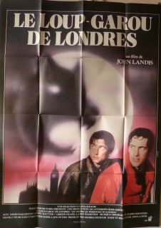 AN AMERICAN WEREWOLF IN LONDON 47x63 French 1981 John LANDIS