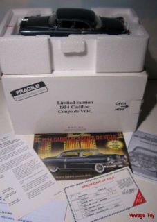 Danbury Mint 1954 Cadillac Coupe DeVille 1 24 Diecast Gander Gray