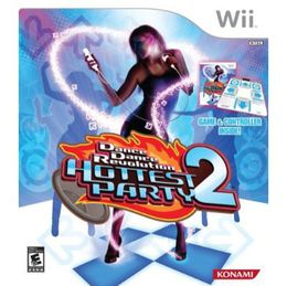 dance dance revolution hottest party 2 for the nintendo wii game is in