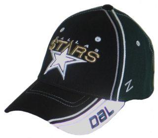 fbe5bbcba ... Dallas Stars NHL Hockey Silver Slash Flex Fit Fitted Hat Cap XL New ...