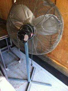 Dayton 30 Pedestal Fan Air Circulator Cooler Blower
