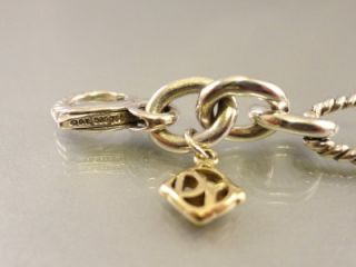 Beautiful 18 Kt Gold & Sterling Silver David Yurman Bracelet.