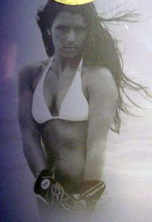 Nascar Danica Patrick 2009 Swimsuit Printing Plate Card SI Sports