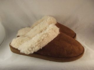 Dawgs Doggers Faux Fur Fleece Lined Shoes Scuffs Slippers Mens