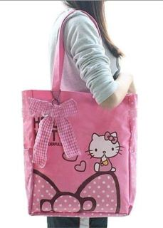 Hello Kitty Tote Shoulder Bag School Bag US Seller