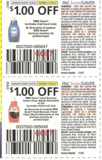 Save $ off Dove Body Wash with Printable Coupon – (Click the above link to get this coupon) Did you know that Amazon now has coupons for hundreds of items – see what savings they have available HERE. Looking for more coupons? Click HERE to see a list of our online coupon resources.