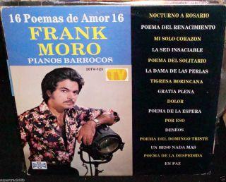 Frank Moro Pianos Barrocos 16 Poemas de Amor LP