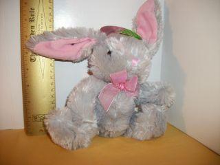 New Dan Dee Plush Bunny Easter Stuffed Animal Soft DanDee Rabbit Toy