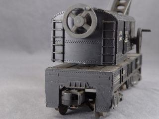 Trains O Scale Lionel 6460 Bucyrus Erie Crane Car Model Train