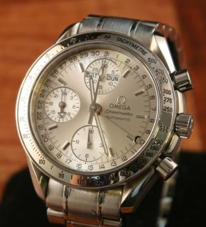 Automatic Triple Day Date Month Calendar Chronograph 3523 30