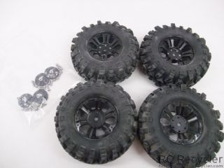 RC4WD Cyclone 1 9 Wheels RC4WD Rock Stompers Tires Scale Rock Crawler