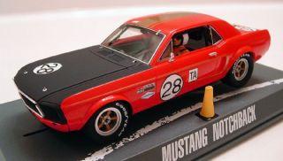 Pioneer P039 1968 Ford Mustang Dean Gregson Slot Car