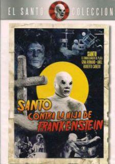 Santo Contra La Hija de Frankenstein 1972 New DVD