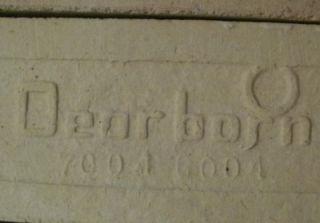 Six Vintage Dearborn Gas Heater Ceramic Radiant Grates Bricks R 282