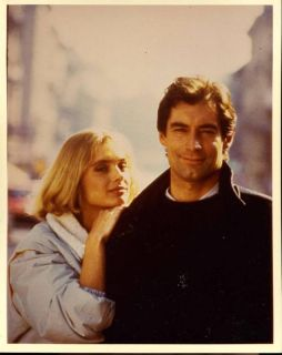 James Bond Maryam Dabo Timothy Dalton Photo G4848