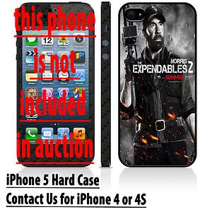 Chuck Norris Posters Expendables 2 Movie Apple iPhone 5 Hard Case