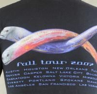 Tool Fall Tour 2007 10000 Days Eels Mens T Shirt Small Black Los
