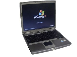 Dell Latitude D610 WiFi Laptop PM 1 73GHz 1GB 40GB DVDROM XPP Free