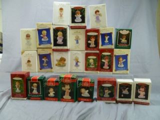Marys Angels Hallmark Keepsake Lot of 25 24 1 All Different Mint in