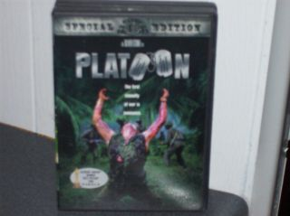 DVD PLATOON CHARLIE SHEEN BERENGER WILLEM DAFOE