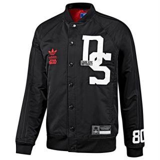 New Adidas Star Wars Dark Side Darth Vader Jacket L