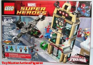 Lego Super Heroes Spider Man Daily Bugle Showdown 76005 New SEALED in