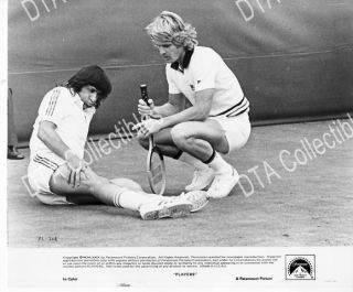 Players 1979 Dean Paul Martin Ilie Nastase 8x10 Still FN