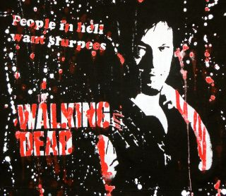 DIY The Walking Dead Hoodie Zombies Daryl Dixon